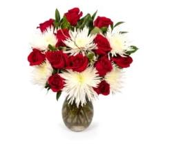 Valentine Cheer Vase Arrangement