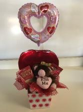 Valentine Chocolate Box Holiday Gift