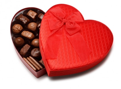 Valentine Chocolate Heart Box Gourmet In Elyria Oh Puffer S