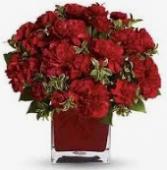 Cube Full of Love for Him Vase Arrangement
