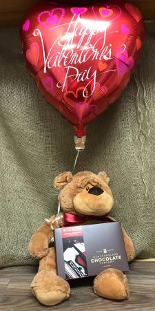 Valentine cuddles Soft and cuddly plush