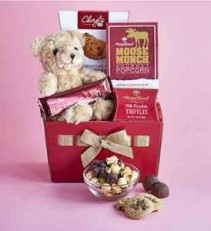 Valentine Day Bear and Sweets
