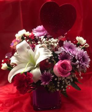 Valentine Dazzler  in Jermyn, PA | Debbie's Flower Boutique