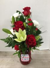 Valentine Delight Arrangement