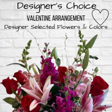 Valentine Designer's Choice