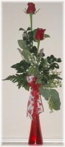 Valentine Elegance A Buds 'n Bows Rose Design