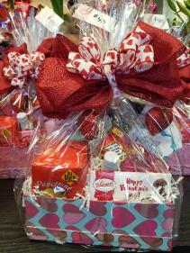 Valentine Gourmet Gift Basket