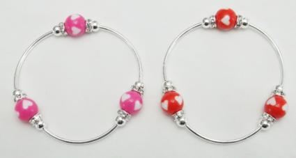 Valentine heart bracelet $12 ea