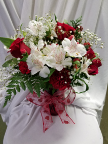 Valentine, I Adore You! Valentine's Day Arrangement