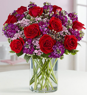 Valentine Magic ™ Arrangement in Croton On Hudson, NY | Cooke's Little Shoppe Of Flowers