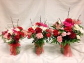 DLF Thinking of You Medley Bouquets Vase Arrangement