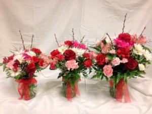 DLF Thinking of You Medley Bouquets Vase Arrangement in Detroit Lakes, MN | DETROIT LAKES FLORAL