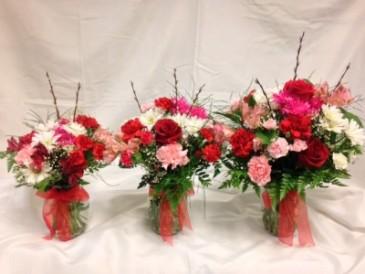 DLF Thinking of You Medley Bouquets Vase Arrangement