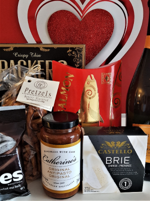 AN ENCHANTED EVENING. A BOTTLE OF BUBBLY AND TASTY TREATS in Halifax, NS | Twisted Willow