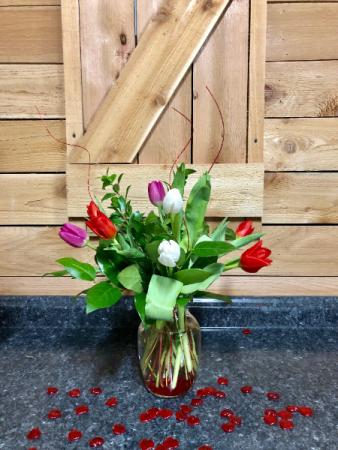 Valentine Mixed Tulips Valentine