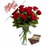 Valentine Perfection fresh arrangement