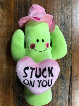 Valentine Plush Cactus