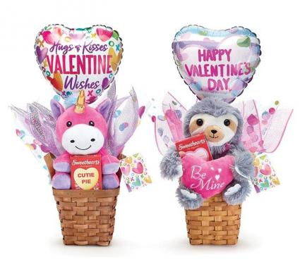 Valentine plush candy giftable