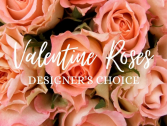 Valentine Roses  Designer's Choice Half Dozen