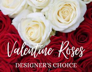 Valentine Roses  Designer's Choice Two Dozen in Huntington, TX | LIZA'S GARDEN