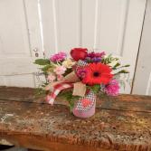 Valentine Special 3 Fresh Vased Arrangement