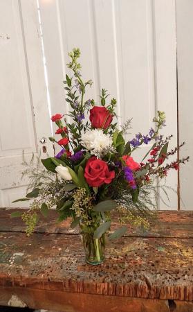 Fresh Special 8 Fresh Vased Arrangement