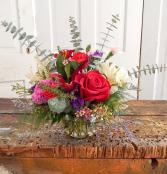 Valentine Special #7 Valentine Fresh Flower Arrangement