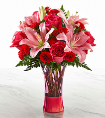 Valentine Sweethearts Bouquet  Pegs florist