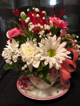 Valentine Teacup Valentine's Day