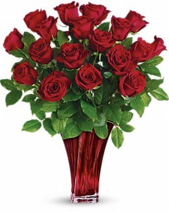 Teleflora's Legendary Love Bouquet  in Borger, TX | Chocolate Tulip