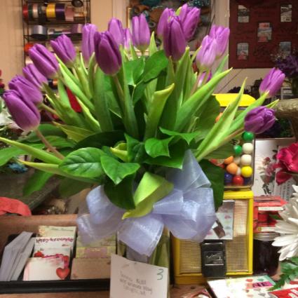 Valentine Tulip Bouguet Fresh