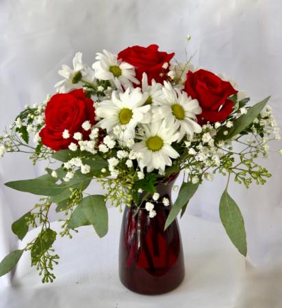 Valentine Vibes fresh arrangement