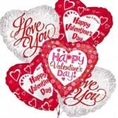 Valentine's Balloon Bouquet Balloon Bouquet
