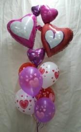 Valentines Balloon Bouquet Balloons