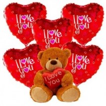 Valentines Balloon Bouquet Valentines