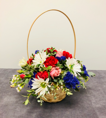 Sweet Basket Fresh Arrangement