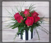 valentine's Box of roses 1