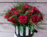 valentine's Box of roses 2