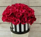 valentine's Box of roses 3