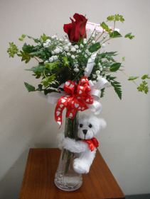 Buddy bouquet bud vase