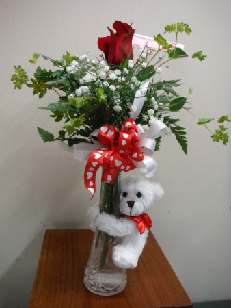 Buddy bouquet bud vase