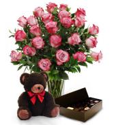 Valentine's Bundle Deal  Bundle Flower Package