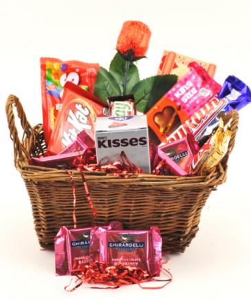 Valentine's Candy Basket