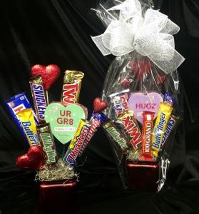 Valentines Candy Boquet