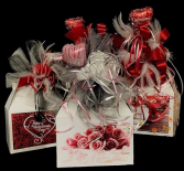 Valentine's Candy Bouquet Sweet & Salty Snacks