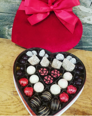Valentine's Chocolate truffles  in Northport, NY | Hengstenberg's Florist