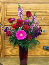 Valentine's Class Vase
