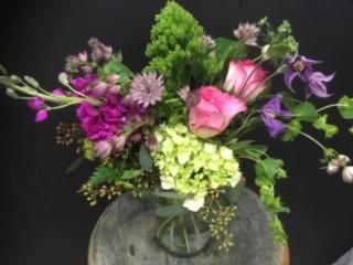 valentines cyclinder vase vase