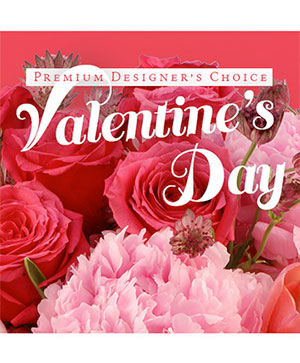 Valentine's Day Artistry Premium Designer's Choice in Southern Pines, NC | Hollyfield Design Inc.