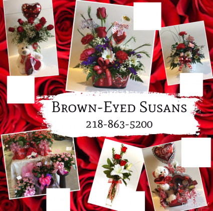 Valentine's Day At Brown-Eyed Susans Your Valentines Day Headquarters